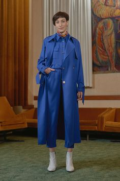 BKV - trench coat with KOZPONT - jumpsuit Trench, Duster Coat, Women Wear, Jumpsuit, Contemporary, Jackets, Photography, Fashion Design, Collection