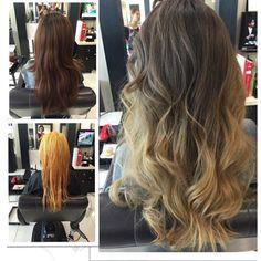 컬러체인지 고객님~~^^ #Hairbychristine #haircolor_change #balayage #ombre #sombre #haircolor #etude_lounge #etudelounge #koreatown #losangeles