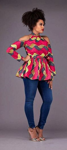 Top Ten Ankara Top and Trouser Styles For Ladies | Dabonke