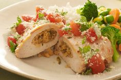 Cilantro-Stuffed Chicken Breasts recipe really good and family love it!!!