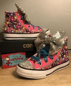 Jojo Siwa Inspired Converse Sneakers 8ac09a901