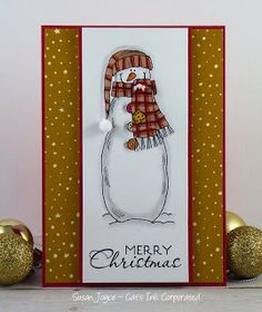 Welcome to another challenge at Merry Monday! This is the challenge all about Christmas cards and getting a head start on the Christm...
