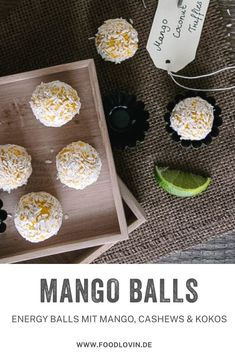 Energy Balls, Veggie Food, Veggie Recipes, Brunch, Coconut, Snacks, Teller, Summer Vibes, Veggies