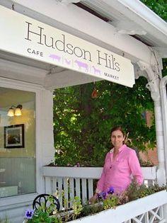 Hudson Hil's Cafe & Market in historic Cold Spring, New York