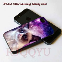 grumpy cat nebula iphone case series