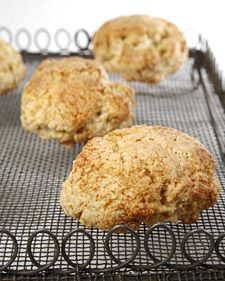 Small World Coffee's Ginger Scones with Cardamom - Martha Stewart Recipes