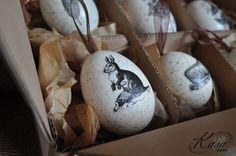 Easter EGG Real Hand Decorated Vintage Easter от KasaStudioDesigns