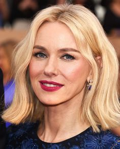 See the Most Gorgeous Beauty Looks from the 2016 SAG Awards - Naomi Watts  - from InStyle.com