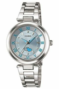 Casio Women's LTP1322D-2A Silver Stainless-Steel Quartz Watch with Silver Dial Casio. $35.24. Quartz Movement. Mineral Crystal. 30mm Case Diameter. 30 Meters / 100 Feet / 3 ATM Water Resistant
