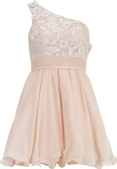 Womens Chi Chi Floral Lace One Shoulder Nude #Dorothy Perkins #Dresses #Dorothy Perkins #fashion #obsessory #fashion #lifestyle #style #myobsession