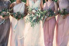 Dreamy Blush Summer Wedding by Mle Jayne Photography Wedding Blush, Wedding Summer, Maggie Sottero, Seattle Wedding, Bridesmaid Dresses, Wedding Dresses, Most Romantic, Wedding Portraits, Portrait Photographers