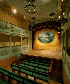 Oldest British theatre still in original form faces closure due to financial problems, noooo! The Georgian Theatre Royal in Yorkshire was built in 1788. How beautiful, it would be a travesty if it had to close, if you have any dosh to spare and love the theatre a donation would be wonderful.