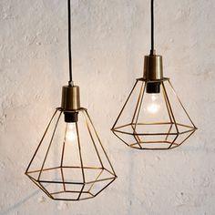 Lámpara Diamon, cobre
