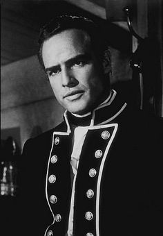 "Fletcher Christian (Marlon Brando): ""I believe I did what honor dictated and that belief sustains me, except for a slight desire to be dead which I'm sure will pass."" -- from Mutiny on the Bounty (1962) directed by Lewis Milestone"