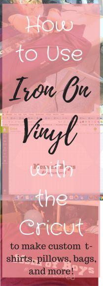 iron on vinyl / iron on vinyl projects / iron on vinyl ideas / iron on vinyl cricut / iron on vinyl shirt / iron-on vinyl ideas / where to buy iron on vinyl / cricut iron on vinyl