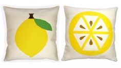 Lemon Cushion from Rume