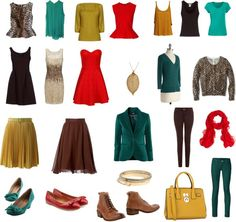 Deep Autumn Capsule Wardrobe
