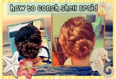 The conch shell braid, in all reality, is a spiraled french fishtail braid. The braid has a unique exotic look that is easier to make than it...