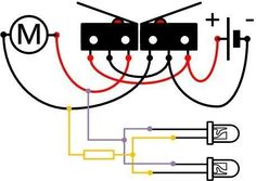 Electronics Mini Projects, Electronic Circuit Projects, Electrical Projects, Arduino Projects, Diy Electronics, Electrical Engineering, Microcontrolador Pic, Motor Dc, Electrical Circuit Diagram