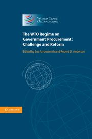 The WTO Regime on Government Procurement - edited by Sue Arrowsmith & Robert D. Cambridge Book, Robert D, Cambridge University, Book Jacket, Books Online, Cover Books