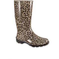 cheetah rain boots | clothes, shoes & accessories | Pinterest ...