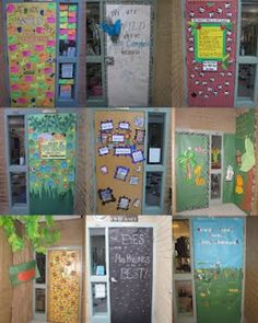 Jungle Theme Doors