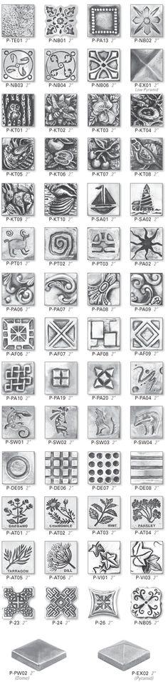 Pewter Tiles