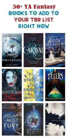 Love YA fantasy? Binge away, my friend, with these 30+ amazingly magical books to read! Check them out!