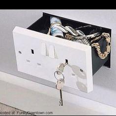 Secret compartment drawer