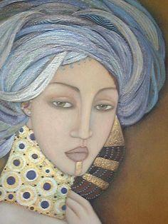 Resultado de imagen de fotos de la artista Faiza