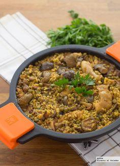 Receta tradicional de arroz brut. Con fotos del paso a paso, los ingredientes y la presentación. Trucos y consejos de elaboración. Recetas de...