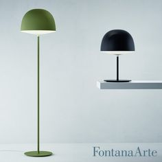 Its glow is screened by an opaque, silky dome - FontanaArte Cheshire Floor Lamp. #FontanaArte #floorlamp #GamFratesi Available at allmodernoutlet.com  http://www.allmodernoutlet.com/fontanaarte-cheshire-floor-lamp/
