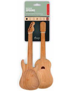 Posate insalata a forma di chitarra