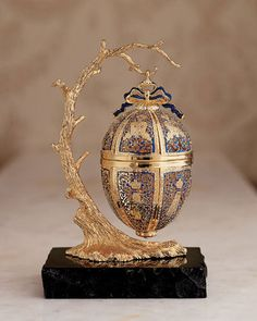 Fabergé egg on a tree