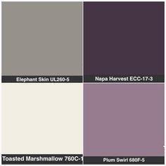 gray, purple, cream bedroom - Google Search