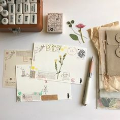 Thank you postcards ... always writing endless thank you notes ✎ I feel blessed to have so many people to thank ! 〠