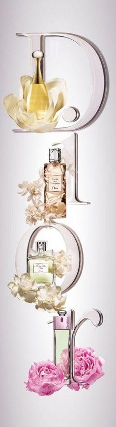 """ Un perfume dice mas de ella , Cristian Dior ... """