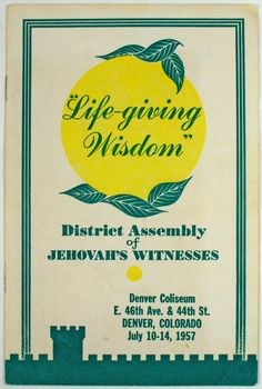 1957 district assembly program - My dad (Jim) worked for the Union Pacific RR. He got a pass & we took the train from Omaha. We stayed with my dad's cousins. They took us up to the mountains. The road was so narrow that it was scary looking down..(Roger Johnson)