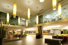 Zona Hall-Recepción - Hotel Marvel Comarruga****