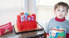 Handy Manny cake was my first big cake,