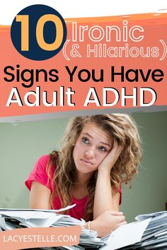As an Adult Woman with ADHD, I didn't see my struggle with relationships, boredom, finishing tasks, and keeping things clean as an ongoing issue. I simply thought everyone struggled with those things. Oh how wrong I was. #adultadhd Adult Adhd, Adhd Kids, My Struggle, Hilarious, Funny, Relationships, Parenting, Thoughts, Signs