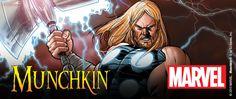 Devenez le plus grand agent du S.H.I.E.L.D dans Munchkin Marvel Edition! Préparez-vous à combattre les méchants de l'univers Marvel.