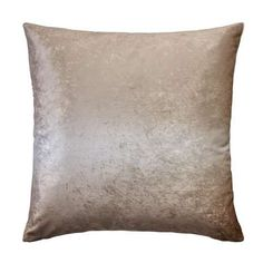 Designed with a subtle ombre shading in a glamorous gold colourway, this velvet square cushion is crafted from a polycotton blend and has a cover that is remova. Champagne Bedroom, Subtle Ombre, Gold Cushions, Soft Furnishings, Velvet, Throw Pillows, Bungalow, Master Bedroom