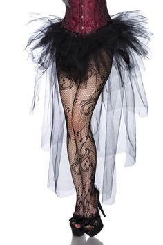Amynetti Burlesque Tüll Rock schwarz