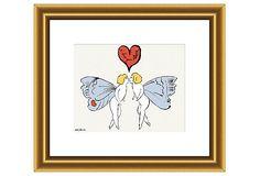 Andy Warhol, I Love You So (Angel) on OneKingsLane.com