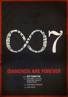 Diamonds Are Forever - 007 #James #Bond