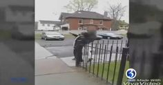 Video shows 66 Year Old Wilbert Prude standing on the sidewalk near his home in late April, when a teenager approached from behind and punched him, causing him to stumble and fall into the street