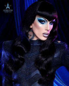 Drag Makeup, Sexy Makeup, Beauty Makeup, Jeffree Star Instagram, Lady Gaga, Exotic Makeup, Rupaul Drag Queen, Queen Makeup, Artists And Models