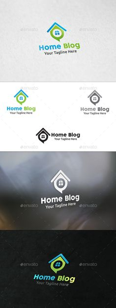 Home Talk - Logo Template by martinjamez Logo Features100 Vector Color Variations : Gradient, Flat, Greyscale & Black File Format :AI & EPSColor Mode :CMYKFont used : Coc