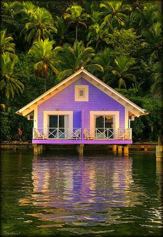 Banana's Resort, Panama. Too cute!